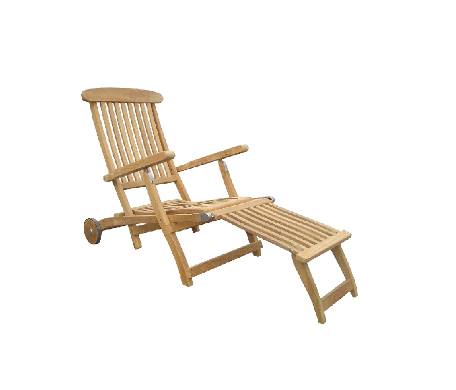 zebra bueno deckchair teak buitennieuws. Black Bedroom Furniture Sets. Home Design Ideas